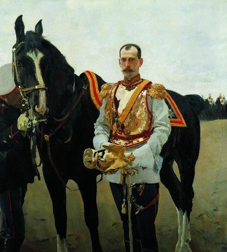 Валентин Александрович Серов. Портрет великого князя Павла ...